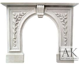 Greenwich Arched Antique Fireplace