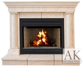 Cast Stone Fireplaces Tuscan