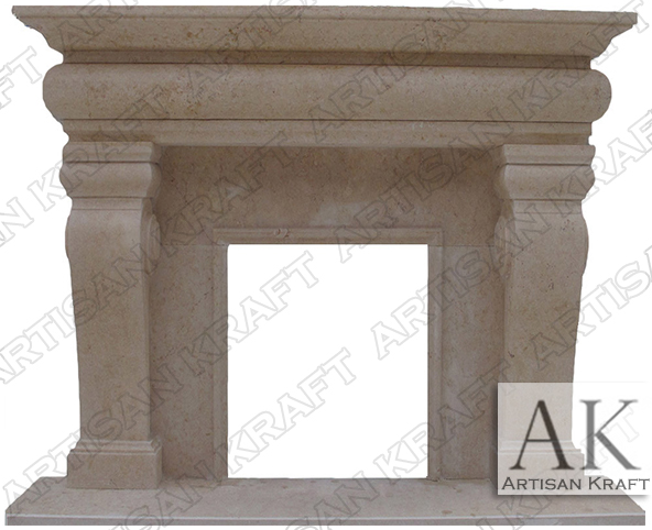 Classic-French-Mantel-Fireplace