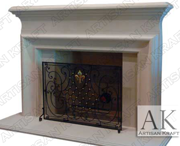 Clermont-Cast-Stone-Mantel-French-Fireplaces