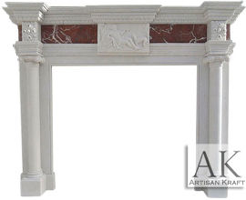 Imperial Barrington Fireplace Marble Mantels