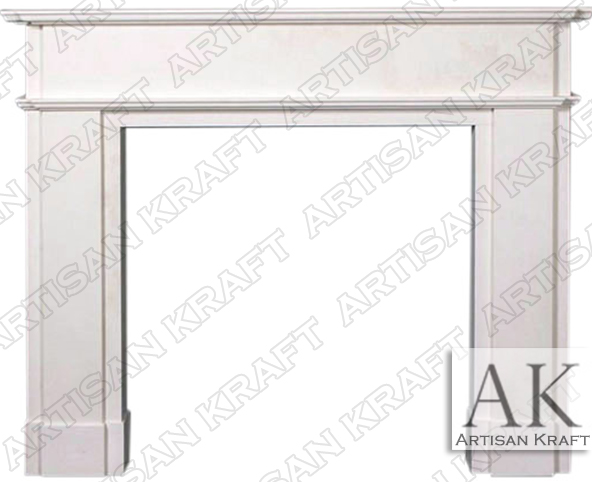 Oxford-Marble-Mantel-Contemporary-Surrounds