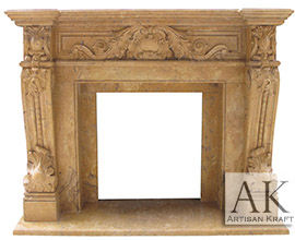 Verona Marble Mantel French Fireplaces